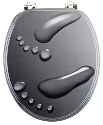 Eisl EDBB01 Abattant de WC Motif zen
