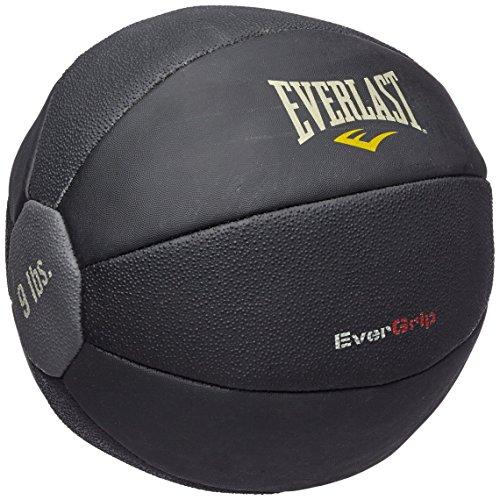 Everlast 6512 Medicine Ball Musculation mixte adulte Noir 40 cm