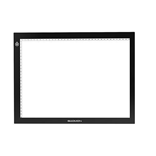 GAOMON B4 Taille LED Table Lumineuse 5 MM Ultramince Tablette Dessin Lumineuse Pad USB Art Dessin pour l'Esquisse et Copie