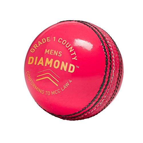 GM pour Homme Diamond Grade 1de Balle de Cricket, Homme, Diamond Grade 1 County