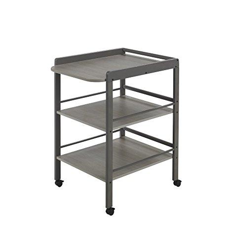 Geuther Table àLanger Clarissa – Plan à langer + 2 étagères