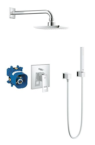Grohe 23409000 Eurocube Ensemble de douche, chrome