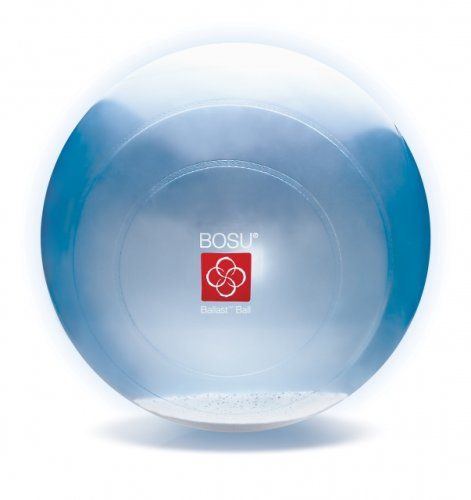 HD-Physiotech Ballon de gymnastique Bleu Transparent 65 cm