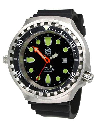 'Horloge 52MM «24heures Pointeur Montre de plongée automatique avec verre saphir/Valve à hélium t0309