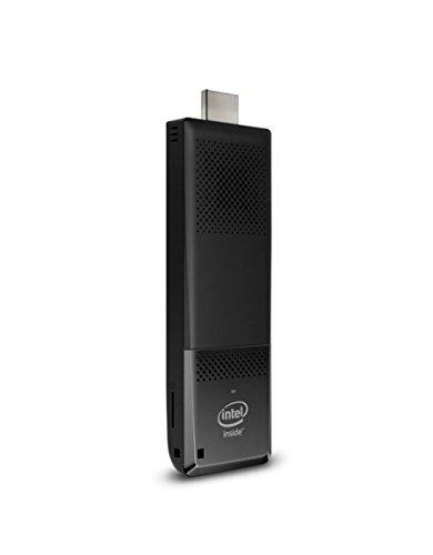 Intel BOXSTK1AW32SC Connecteur de télévision intelligent Noir  (Intel Atom x5 Z8300, 2 Go de RAM, 32 Go, Intel HD Graphics, Windows 10)