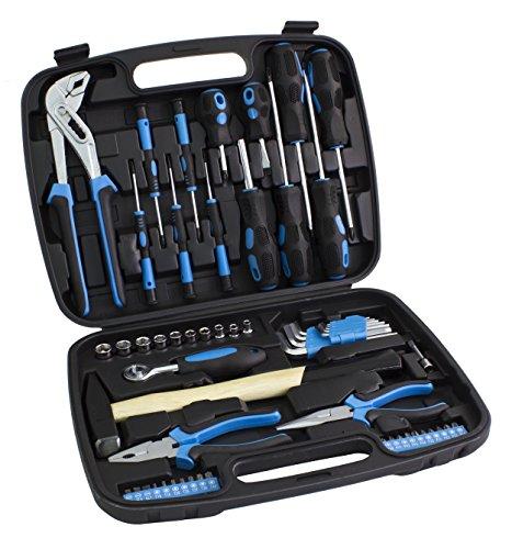 Karcher Mallette à outils – Ensemble d'outils avec marteau, tournevis et beaucoup plus