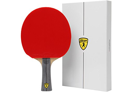 Killerspin Jet 600 Spin N1 Table Tennis Racquet Mixte Adulte, Black