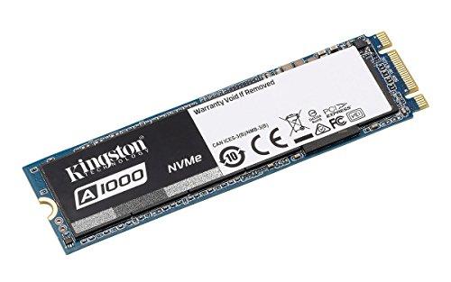 Kingston SSD A1000 (SA1000M8) – 240GB Disque Flash SSD, M.2 2280, PCIe NVMe