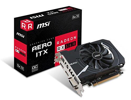 MSI Radeon RX 560 Aero ITX 4G OC – Cartes Graphiques (Radeon RX 560, 4 Go, GDDR5, 128 bit, 7000 MHz, PCI Express x16 3.0)
