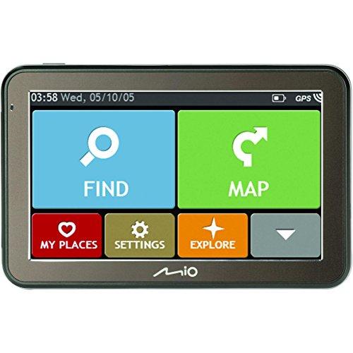 'Mio Combo LM GPS avec écran Tactile dashcam 5Vie Longue Carte mises à Jour et Info Radar Fallen, Organiseur de Voyage, GPS intégré, G Capteur