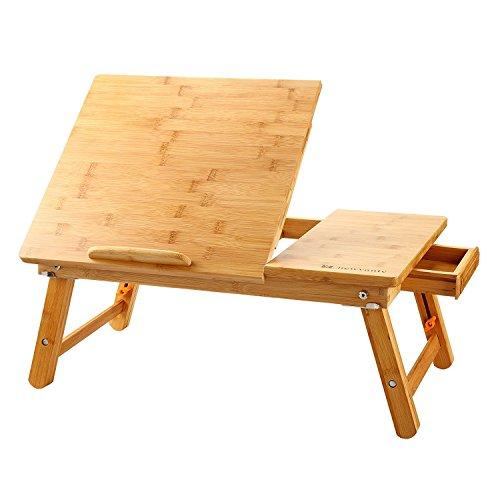 Nnewvante Grand Plateau de Lit Portable Bureau Lap Desk Pliable …