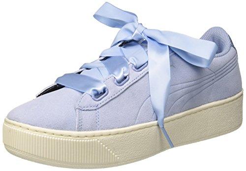 Puma Vikky Platform Ribbon S, Sneakers Basses Femme