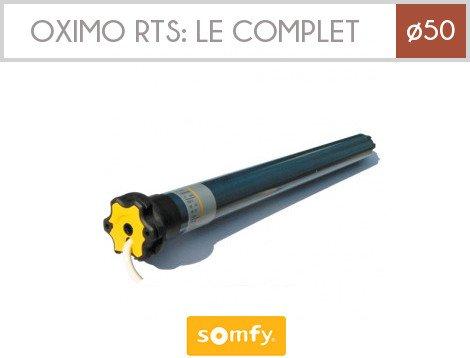 SOMFY – Moteur OXIMO RTS 6/17 – 230V/50Hz pour volets roulants Somfy – 1032392