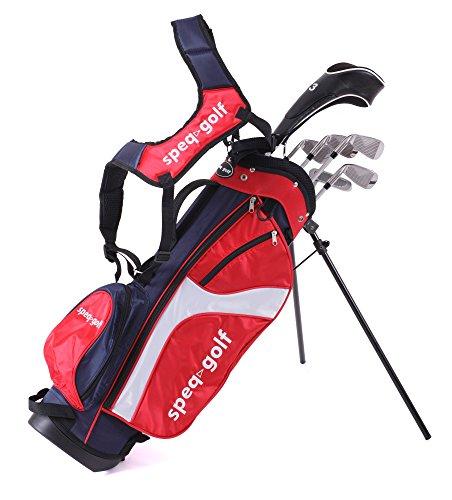 Speq Demi-série de golf pour enfant avec sac Bronze