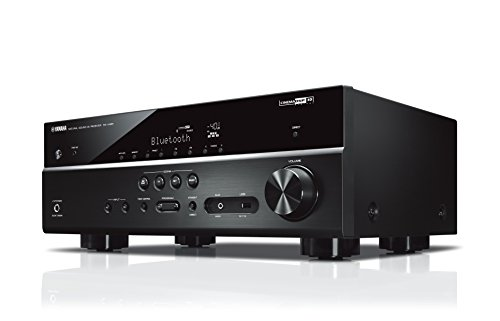 Yamaha Amplificateur Home Cinema RX-V485 145W – Système Bluetooth, Wifi, Airplay, Multiroom