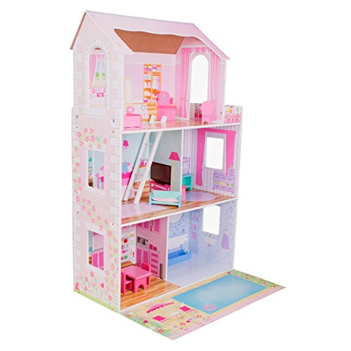 boppi Maison de poupées en Bois avec 15 Meubles