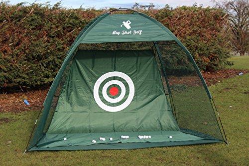 filet de pratique de golf professionnel avec la feuille de cible de plus de taille. Golf practice net